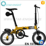 14 Inch Mini Folding Electric Bike with Brushless Motor Assist