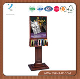 Poster Display for Graphics with 10 Brochure Pockets