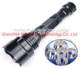 LED Flashlight Torch - High Power Rechargeable 2*18650
