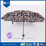 Custom Design Printed Folding Sun Umbrella