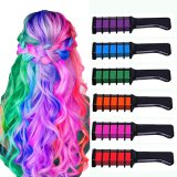 Best Seller Temporary Hair Chalk Color Comb Dye Cosplay Washable Hair Color Comb for Party Makeup