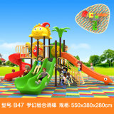 New Style Small Kid Slide Gametime School Yard Equipment Child Cheap Baby Toy Outdoor Playground