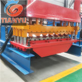 Cheap Metal Steel Glazed Roof Tile Cold Roll Forming Machine
