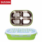 1100ml Stainless Steel Food Container Bento Lunch Box Compartment 22121