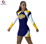 Best Sell Custom 100% Polyester Long Sleeves Printing Cheerleading Wear Sexy