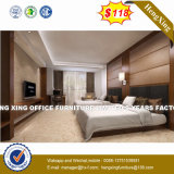 Hotel Double Bed Sets Wooden Living Room Home Bedroom Furniture (HX-8NR2005)
