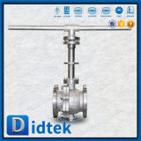Didtek CF3m Soft Sealing Trunnion Ball Valve with Stem Extension