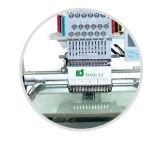 Single Head High Speed Tubular Cap Embroidery Machine (TLC901)