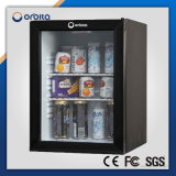 Ce, RoHS, ETL Certification New Condition Glass Door Minibar