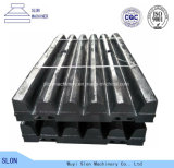 High Manganese Sandvik Cj815 Jaw Crusher Parts Jaw Plate