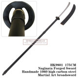 Naginata Forged Sword Martial Art Broadsword 175cm HK9801