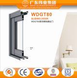 Dali Manufacturer Floor Price Single Rail Aluminum Sliding Door
