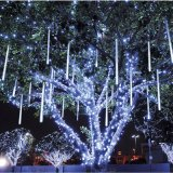 Multi-Color 30cm Meteor Shower Rain Tubes LED Christmas Lights
