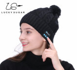 Wholesale Bluetooth Headset Wireless Knitted Beanies Skullies Hat Stripe Design Music Caps Ypf25