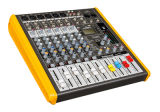 Digital Effect 6 Mono Professional Mixing Console Ms-612fx