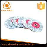 White Pane Wet Dry Flexible Polishing Pads