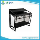 Portable DJ Booth, Mobile DJ Booth Table, DJ Trussing