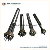 Three Phase Industrial Heating Element with Copper Flange for Water Heating