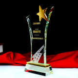 K9 Crystal Glass Star Trophy Book Trophy for Decoration
