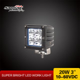 20W Square Bright Lumen Offroad Truck LED Spotlight