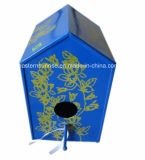 Metal Bird House with Printed L/Metal Roof Bird Houses