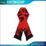 Wholesale Gift Knitted Jacquard Football Team Soccer Fan Scarf (M-NF19F06014)
