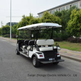 2 4 6 8 Seater Battery 48V Back to Back Electric Golf Buggy Cart with AC Motor