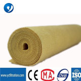 Nonwoven Filter Bag P84 Polyamide Yellow Needle Filter Felt Dust Collector Use Filter Fabric