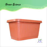 High Quality Plastic Balcony Flower Pots Wholesale
