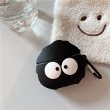 Black Coal Balls Airpods Headset Cover Apple's Third Generation Wireless Bluetooth Headset Protection Cover Silicone Anti Falling Bag 387