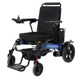 Automatic Folding Electric Wheelchair with Quick Release Basket