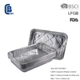 Disposable Household Aluminum Foil BBQ Grilling Baking Food Packaging Storage Container