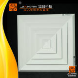 HVAC System Ceiling Diffuser Square Aluminium Air Diffuser with Damper