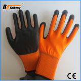 Wholesale High Quality Garden Safety Nitrile Coated Glove Work Safety Gloves