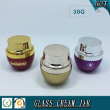 Cosmetic Packaging 30g 1 Oz Coloured Cosmetic Glass Jar