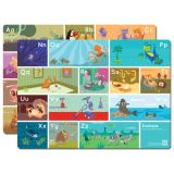 Eco-Friendly Baby Table Mat Printed Plastic Placemat