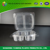 Square Tamper Evident Seal Plastic Transparent Container