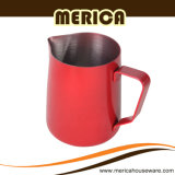 Red Surface Stainless Steel 304 Milk Pitcher