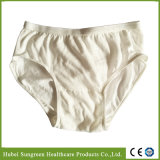 High Quality Disposable Cotton Panties for Hotel/Travelling Use