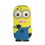 Hot Selling Fashion 3D Minions Silicone Case for iPhone 7