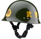 Green Color Armed Police Duty Helmet