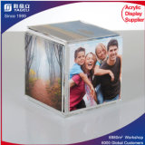 Acrylic Photo Frame Cube, Eyecatching PMMA Photo Display