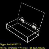 Transparent Plastic Perspex Storage Box with Hinge