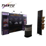 New Design Aluminum Alloy Fabric Portable Convenient Native Booth Design