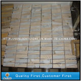 White/Beige Marble Stone Mosaic Wall Tiles/ Mosaic Flooring Tiles