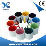2017 Wholesale Inner and Handle Colorful Ceramic Sublimation Mug
