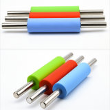 Nonstick Stainless Steel Handle Adjustable Rolling Pin Nonstick Plastic Silicone Cake Roller Baking Tools