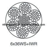Special-Purpose Steel Wire Rope 6X36ws+Iwr