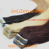 20inches Brazilian Virgin Human Hair Extension Tape Hair Extensions
