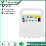 10W Solar Panel 12V Battery Solar DC Power Syetem
